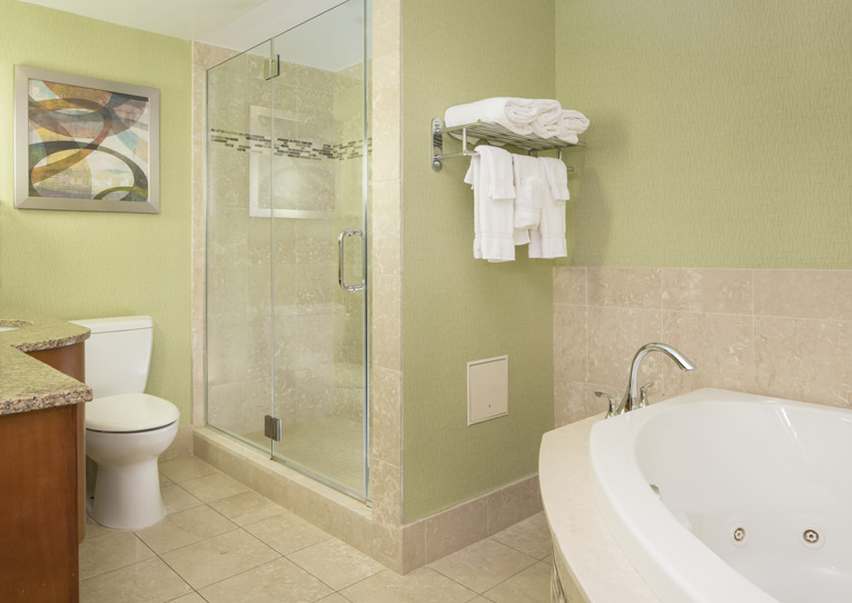 1 King Bed Spa Suite Nonsmoking of Holiday Inn Columbia East-Jessup